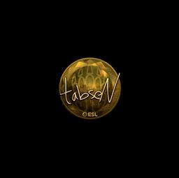 Sticker | tabseN (Gold) | Katowice 2019