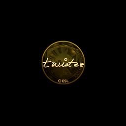 Sticker | Twistzz (Gold) | Katowice 2019