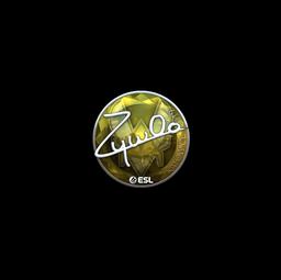 Sticker | ZywOo (Foil) | Katowice 2019