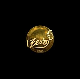 Sticker | Zeus (Gold) | Katowice 2019