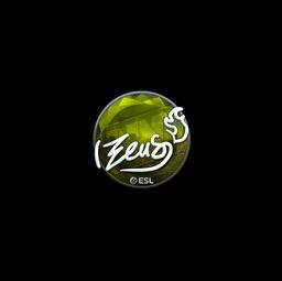 Sticker | Zeus (Foil) | Katowice 2019
