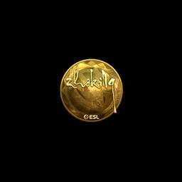 Sticker | zhokiNg (Gold) | Katowice 2019