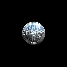 Sticker   smooya (Foil)   Katowice 2019