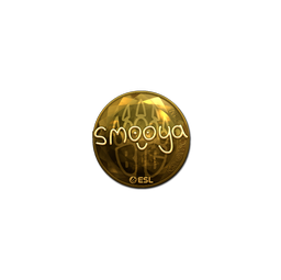 Sticker   smooya (Gold)   Katowice 2019