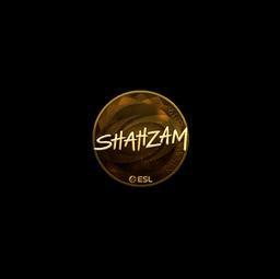Sticker | ShahZaM (Gold) | Katowice 2019