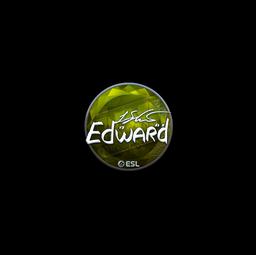 Sticker | Edward (Foil) | Katowice 2019