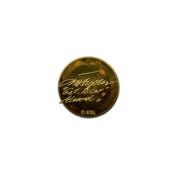 Sticker   GeT_RiGhT (Gold)   Katowice 2019