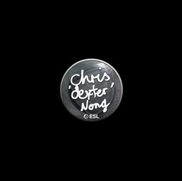Sticker | dexter | Katowice 2019