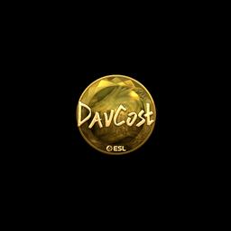 Sticker | DavCost (Gold) | Katowice 2019