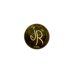 Sticker | jR (Gold) | Katowice 2019