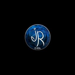 Sticker | jR (Foil) | Katowice 2019