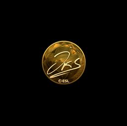 Sticker | jks (Gold) | Katowice 2019