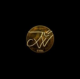 Sticker | JW (Gold) | Katowice 2019