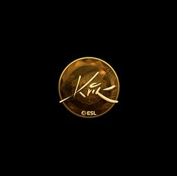 Sticker | Kvik (Gold) | Katowice 2019