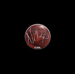 Sticker | NiKo | Katowice 2019