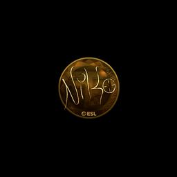 Sticker | NiKo (Gold) | Katowice 2019