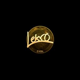 Sticker | Lekr0 (Gold) | Katowice 2019
