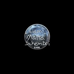 Sticker | malta (Foil) | Katowice 2019