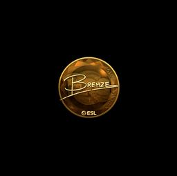 Sticker | Brehze (Gold) | Katowice 2019