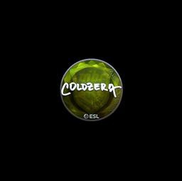 Sticker | coldzera (Foil) | Katowice 2019