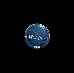 Sticker | chopper | Katowice 2019
