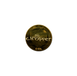 Sticker | chopper (Gold) | Katowice 2019