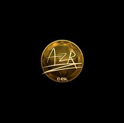 Sticker   AZR (Gold)   Katowice 2019