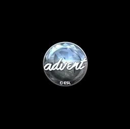 Sticker | advent (Foil) | Katowice 2019
