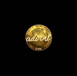 Sticker | advent (Gold) | Katowice 2019