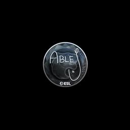 Sticker | ableJ (Foil) | Katowice 2019