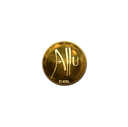 Sticker | allu (Gold) | Katowice 2019