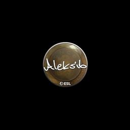Sticker | Aleksib | Katowice 2019