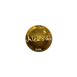 Sticker | Aleksib (Gold) | Katowice 2019