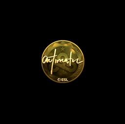 Sticker | autimatic (Gold) | Katowice 2019