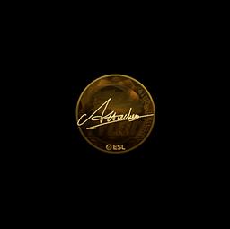 Sticker | Attacker (Gold) | Katowice 2019