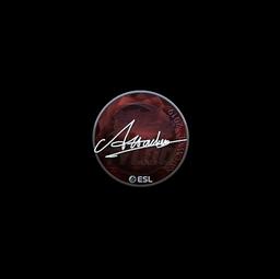 Sticker | Attacker (Foil) | Katowice 2019