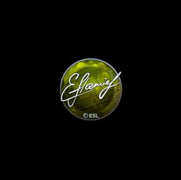 Sticker | flamie (Foil) | Katowice 2019