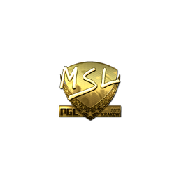 Sticker | MSL (Gold) | Krakow 2017