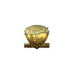 Sticker | Magisk (Gold) | Krakow 2017