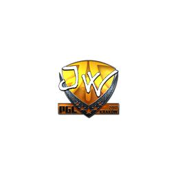 Sticker | JW (Foil) | Krakow 2017