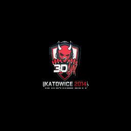 Sticker | 3DMAX | Katowice 2014
