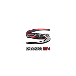 Sticker | compLexity Gaming (Holo) | Katowice 2014