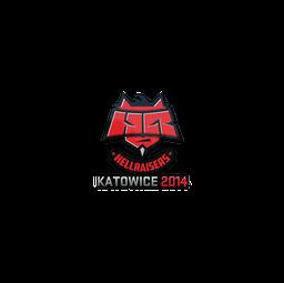 Sticker   HellRaisers   Katowice 2014