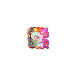 Sticker | Unicorn (Holo)