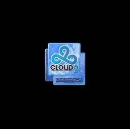 Sticker | Cloud9 (Holo) | DreamHack 2014