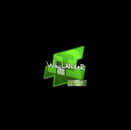Sticker | wayLander | Atlanta 2017
