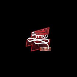 Sticker   STYKO   Atlanta 2017