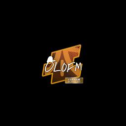 Sticker | olofmeister | Atlanta 2017