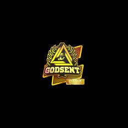 Sticker   GODSENT (Holo)   Atlanta 2017