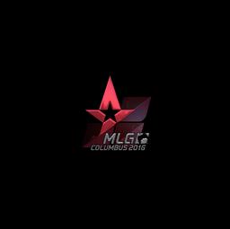 Sticker | Astralis (Foil) | MLG Columbus 2016